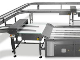 Aligning belts, Automatic Lines for Bread Buns, Packaging Systems