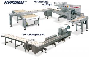 FlowAngle, Alimentations Automatiques, RECORD, Machines d'emballage et de conditionnement primaire et secondaire de sachets flow pack