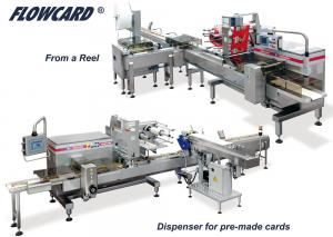 FlowCard, Alimentations Automatiques, RECORD, Machines d'emballage et de conditionnement primaire et secondaire de sachets flow pack