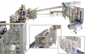 Frozen Pancakes Lines, Packaging Systems, RECORD, Flow Pack Machines and Equipment for Flexible Packaging