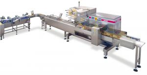 Packaging System for Round Waffles, Packaging Systems, RECORD, Flow Pack Machines and Equipment for Flexible Packaging