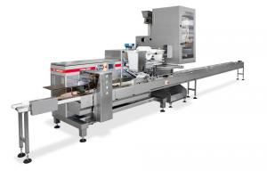 Packaging System pasta dough rolls, Packaging Systems, RECORD, Flow Pack Machines and Equipment for Flexible Packaging