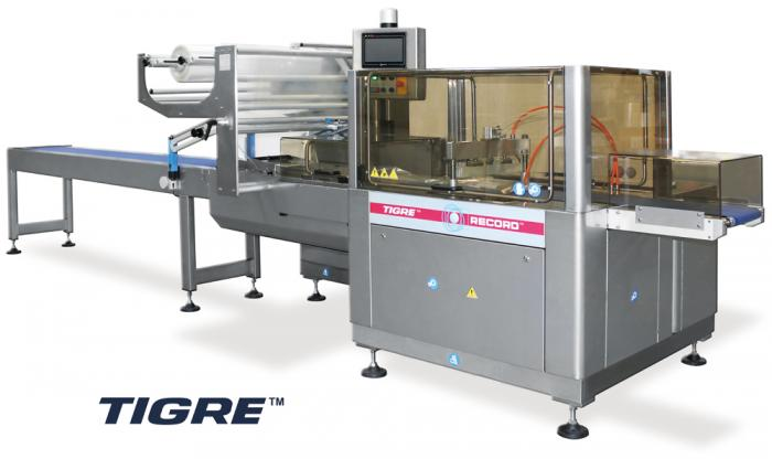 Tigre Bottom Seal, Horizontal Flow Pack Machine (HFFS), RECORD, Flow Pack Machines and Equipment for Flexible Packaging