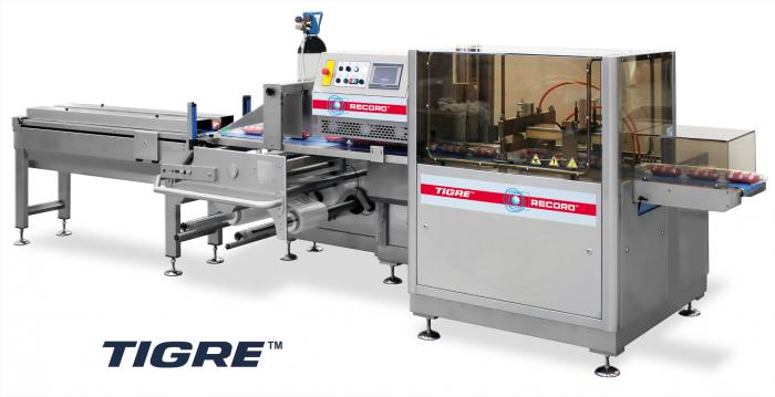 Tigre Top Seal, Horizontal Flow Pack Machine (HFFS), RECORD, Flow Pack Machines and Equipment for Flexible Packaging