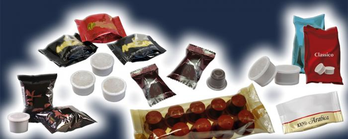 Coffee Capsule, Solutions, RECORD, Flow Pack Machines and Equipment for Flexible Packaging