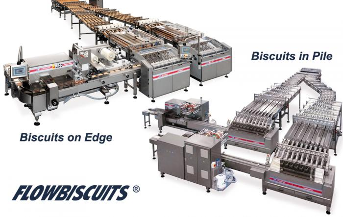 FlowBiscuits, Automatic Feeders, RECORD, Flow Pack Machines and Equipment for Flexible Packaging