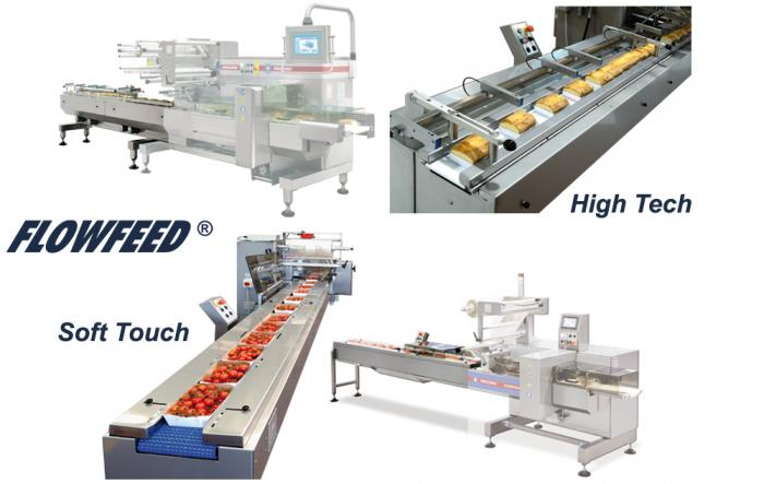 FlowFeed, Automatic Feeders, RECORD, Flow Pack Machines and Equipment for Flexible Packaging