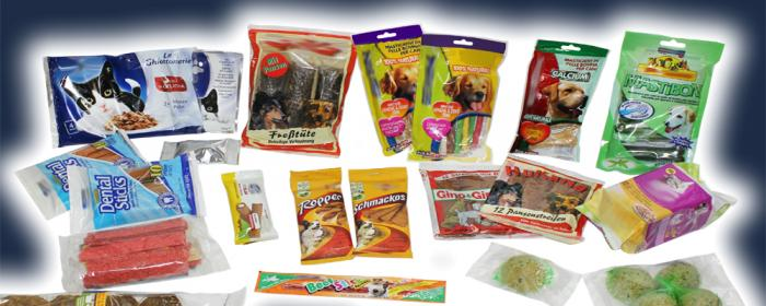 Pet Food, Solutions, RECORD, Machines d'emballage et de conditionnement primaire et secondaire de sachets flow pack