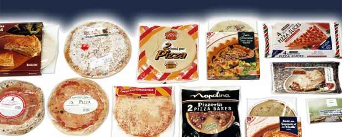 Pizza & Tortillas, Solutions, RECORD, Machines d'emballage et de conditionnement primaire et secondaire de sachets flow pack