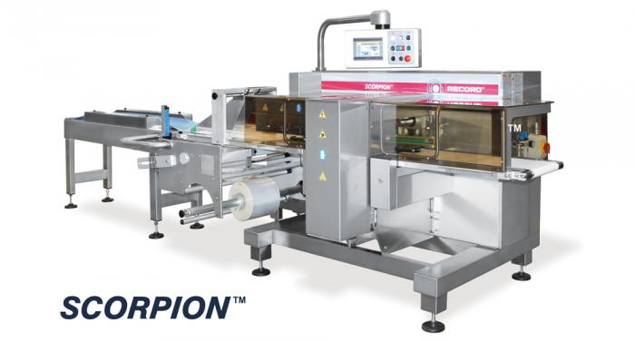 Scorpion Top Seal, Horizontal Flow Pack Machine (HFFS), RECORD, Flow Pack Machines and Equipment for Flexible Packaging
